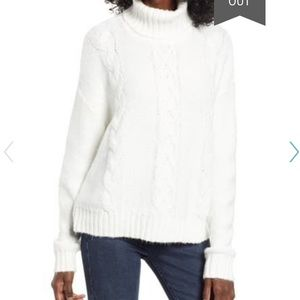 BP. Cozy Cable Knit Turtleneck Sweater (NWT!)